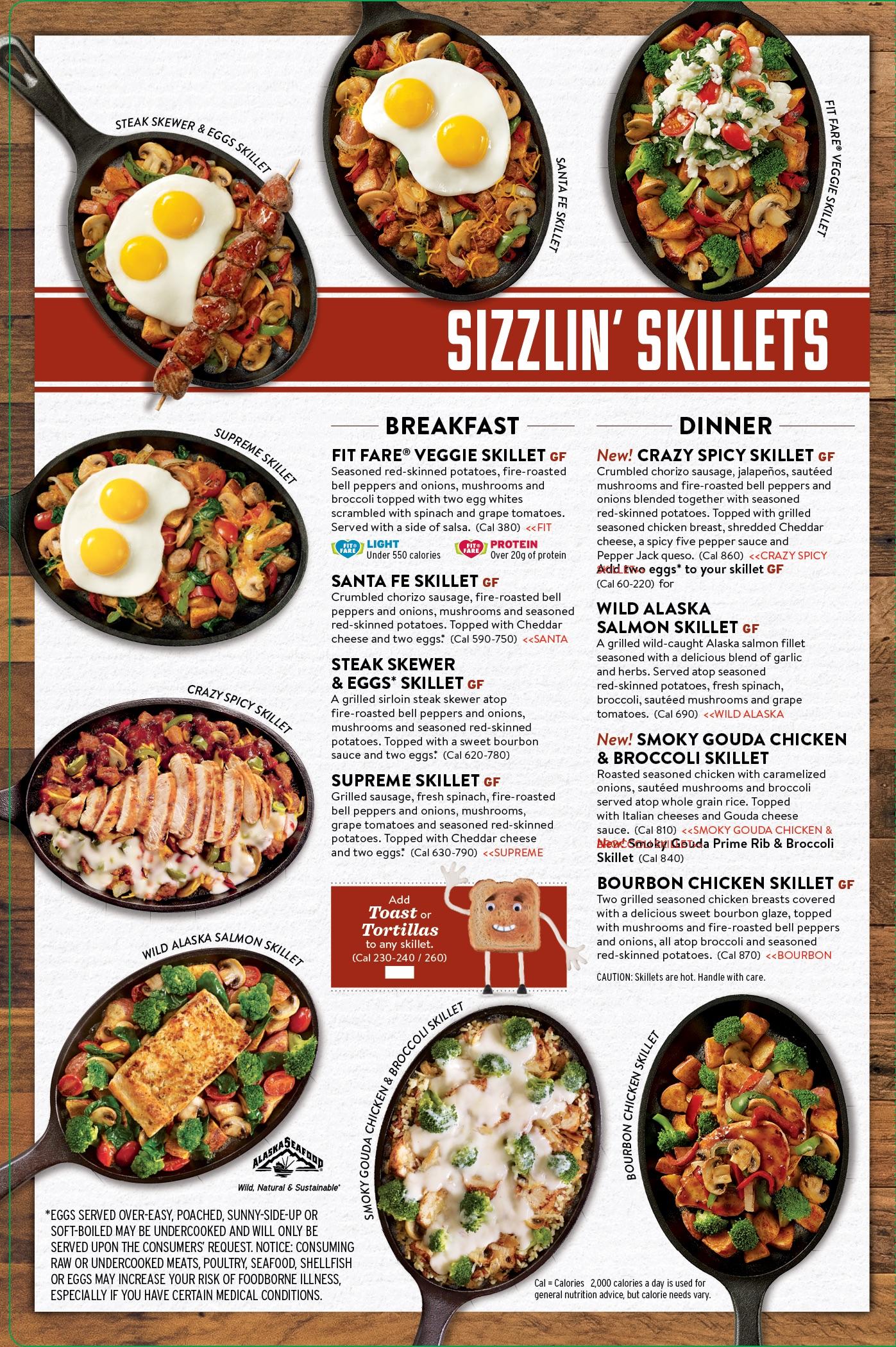 Denny\'s - Menu • Alyssa Sarfity | Food Stylist